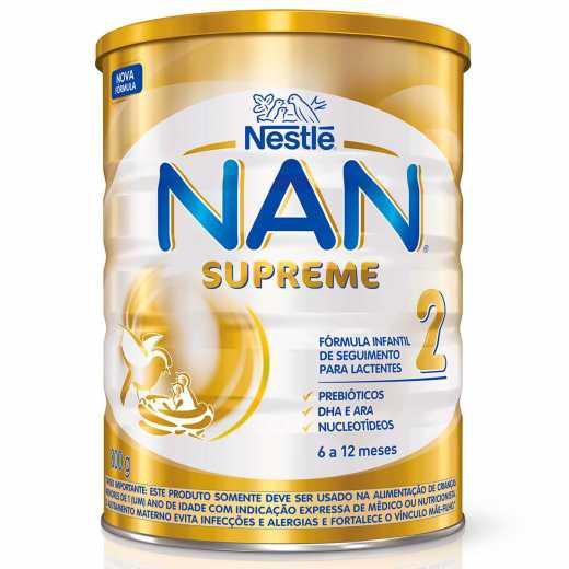 Fórmula infantil supreme 2 Nan