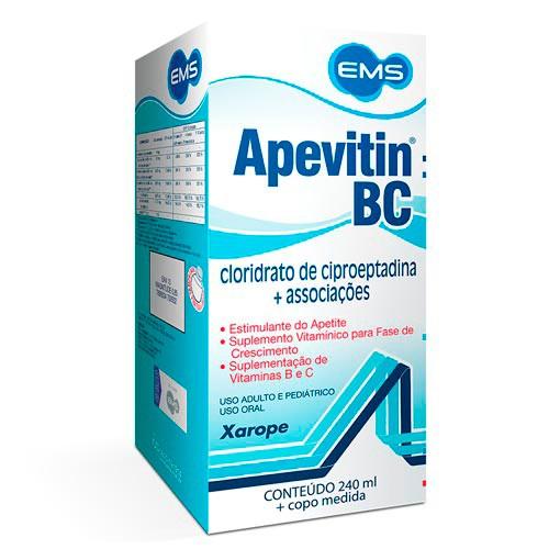 Suplemento vitamínico Apevitin BC xarope