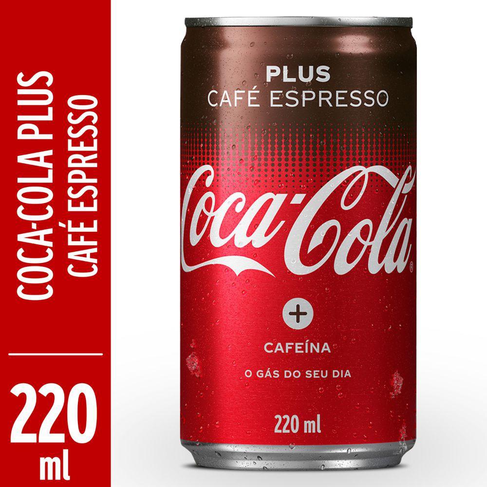 Refrigerante de cola Plus café espresso