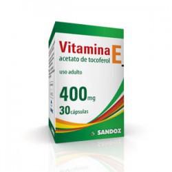 Vitamina-E 400mg Sandoz