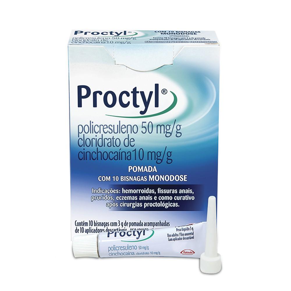 Proctyl pomada monodose