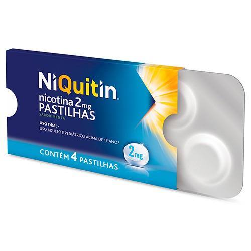 Niquitin 2mg 4 Pastilhas