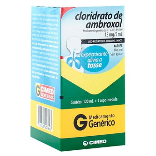 Xarope ambroxol pediátrico genérico