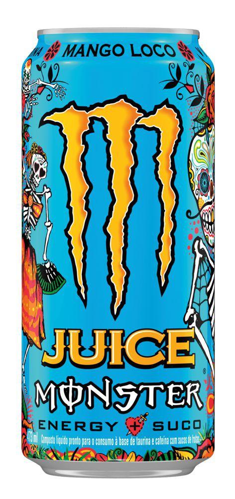 Energético juice mango loco