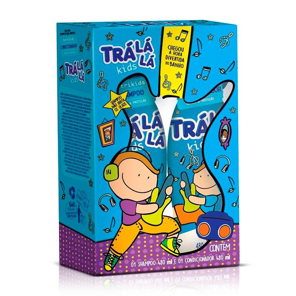 Kit shampoo e condicionador infantil Nutrikids