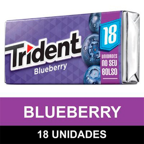 Goma de mascar sabor blueberry