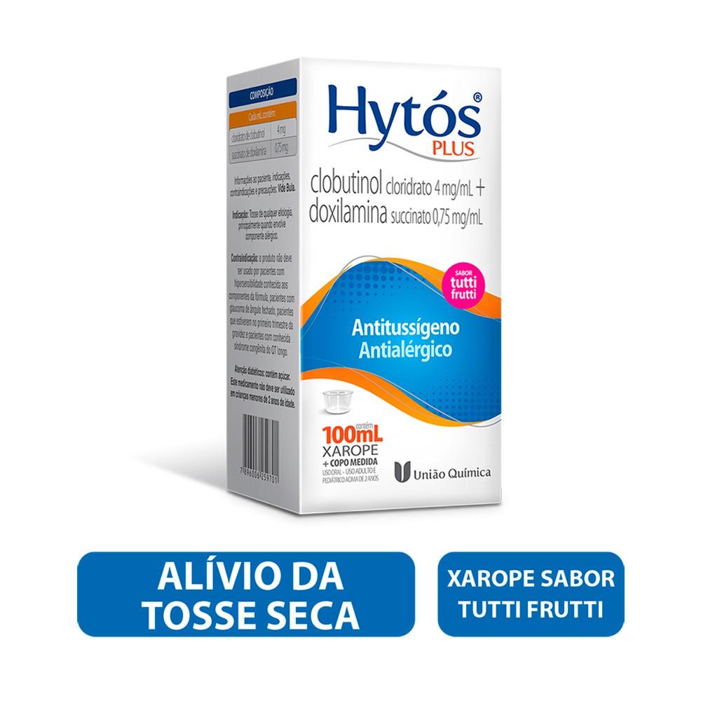Hytos plus xarope 4mg/ml e 75mg/ml