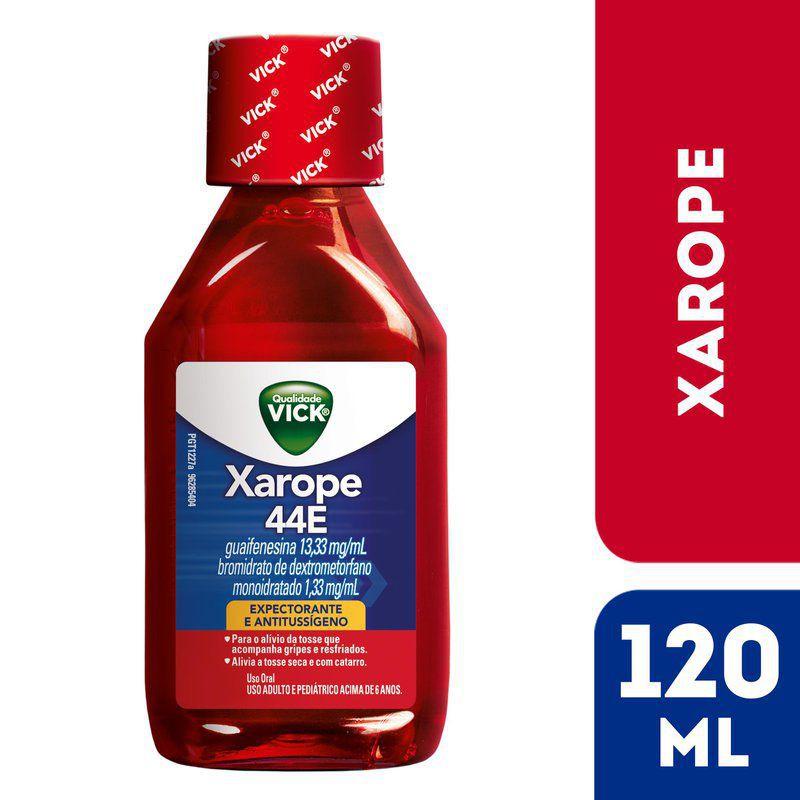 Xarope guaifenesina 44E