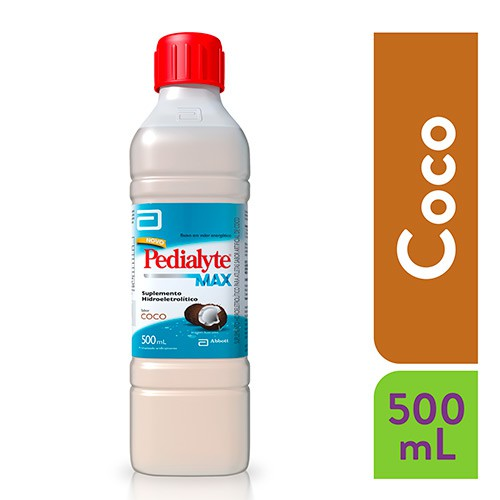 Reidratante Pedialyte Pro sabor coco