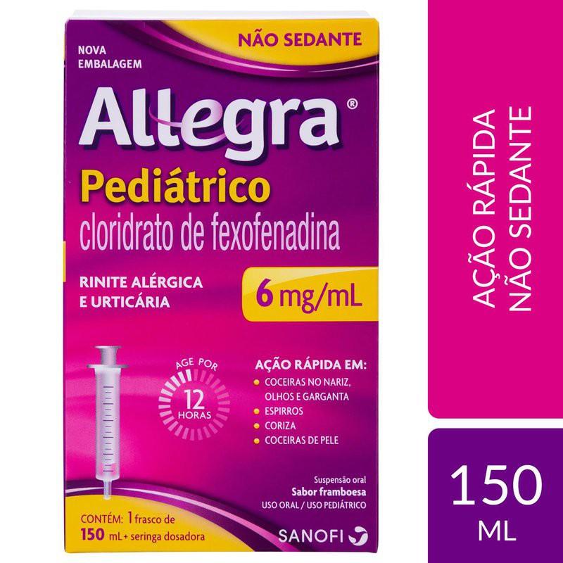Allegra pediátrico 6mg/ml