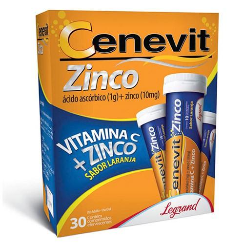 Cenevit zinco sabor laranja