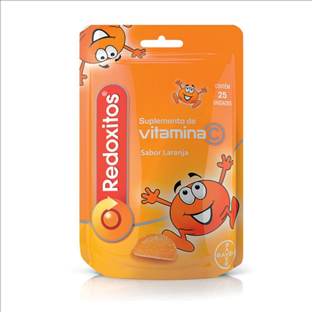 Suplemento de vitaminas Redoxitos sabor laranja