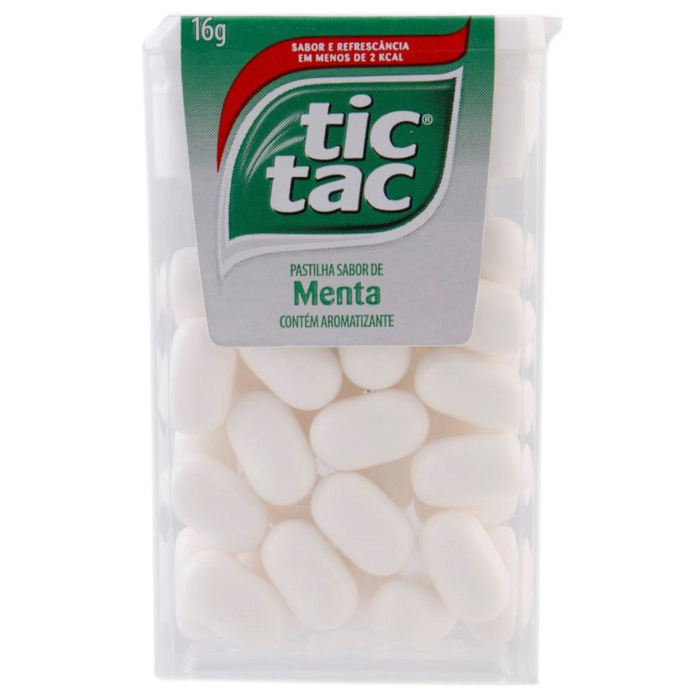 Pastilhas Tic-Tac Menta 16g