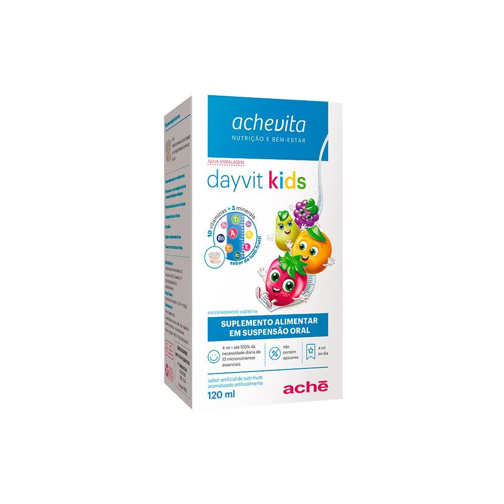 Suplemento alimentar Dayvit kids 1+ tutti-frutti