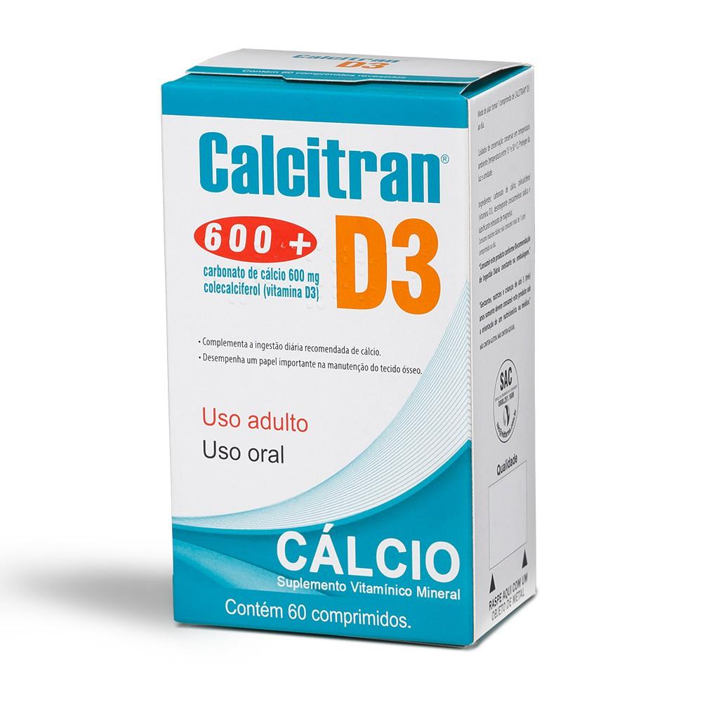 Calcitran D3 600+