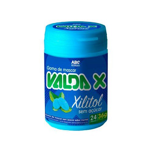 Goma de mascar Xilitol