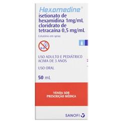 Hexomedine colutorio