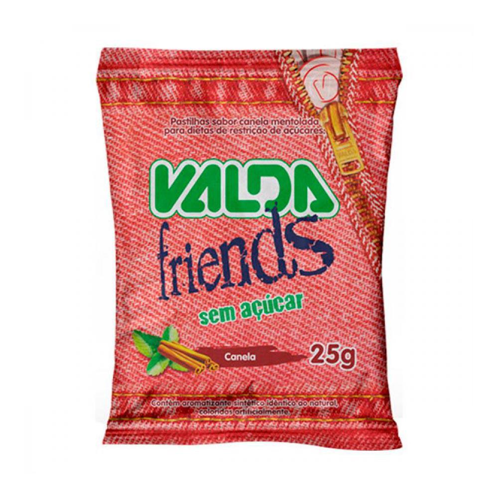 Pastilha Friends sabor canela