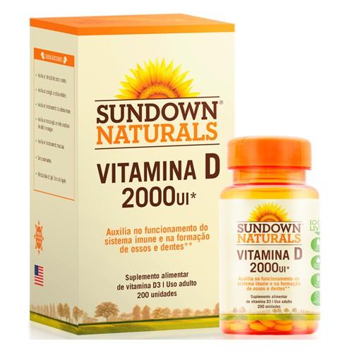 Sundown Vitamina D 2000ui Com