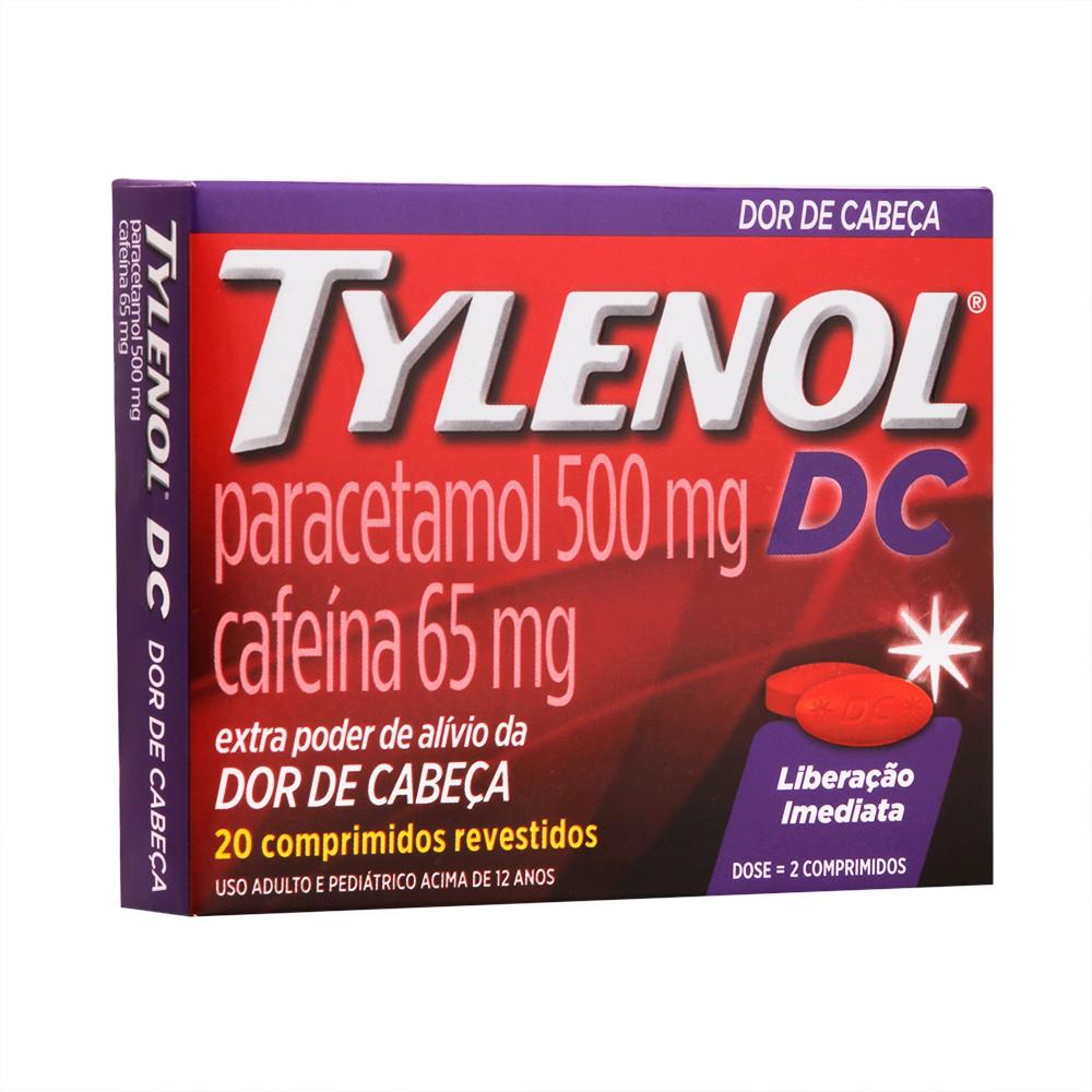 Tylenol DC dor de cabeça