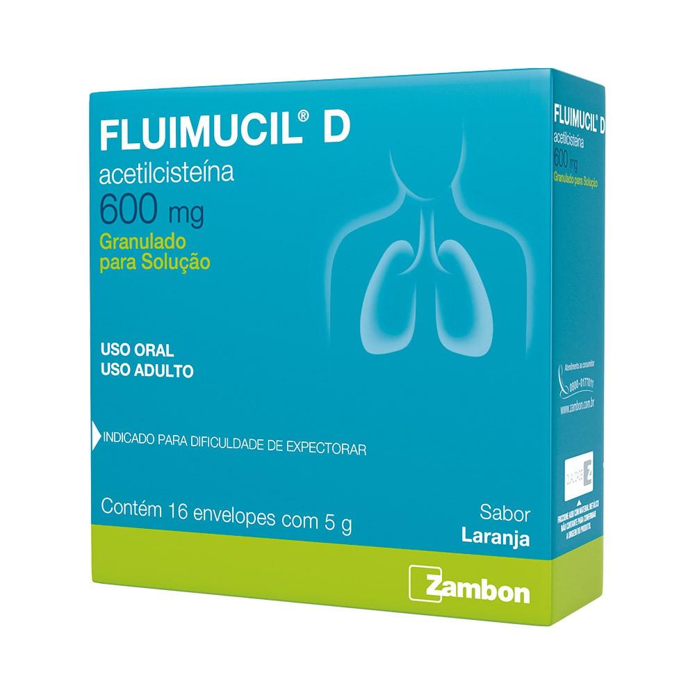 Fluimucil D 600mg granulado