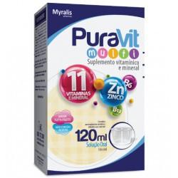 Puravit multi solução oral sabor tutti-frutti