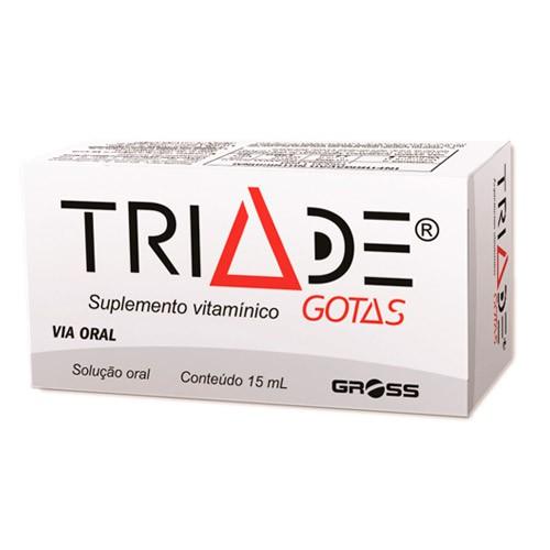 Suplemento Vitamínico Tríade Gotas 15ml
