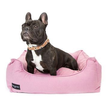 Cama nest para perros rosada M