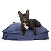 Cama snooze para perros azul