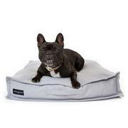 Cama snooze para perros gris