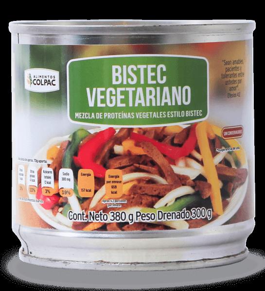 Bistec vegetariano