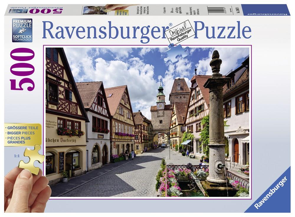 Puzzle rothenburg ob der tauber - 500 piezas