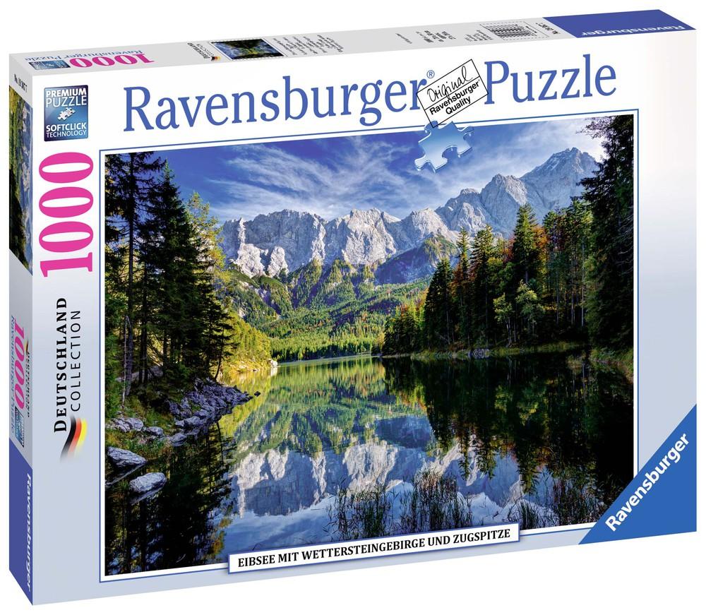 Puzzle lago eib, alemania - 1000 piezas