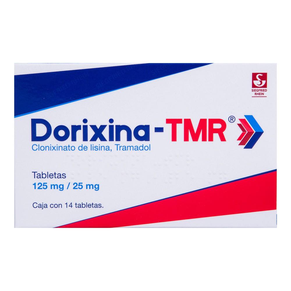 Dorixina TMR tabletas 125/25 mg