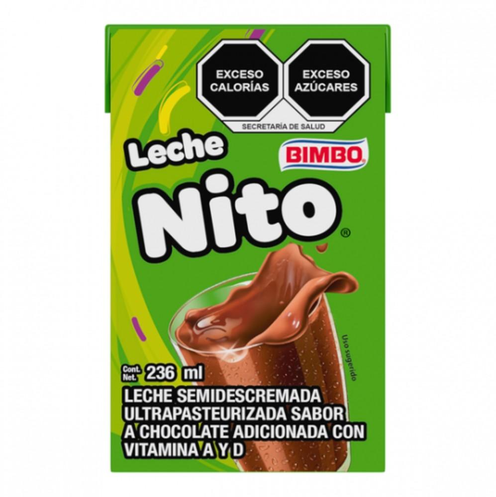 Leche nito sabor chocolate 236 ml