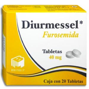 Diurmessel 20 Tabletas Furosemida