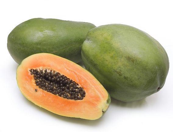 Papaya maradol cubana