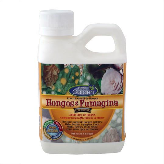 Control natural contra hongos y fumagina. Concentrado. 150cc