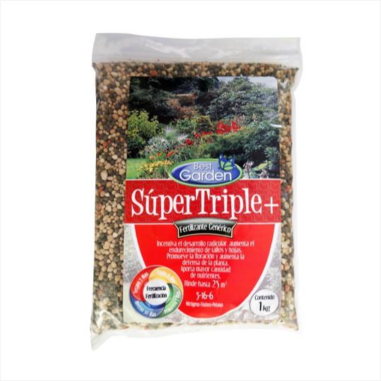 Fertilizante super triple 1Kg Bolsa 1 Kg