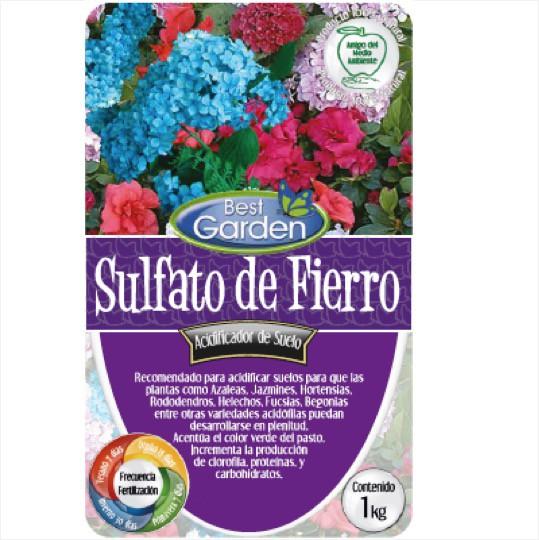 Sulfato de fierro Bolsa 1 Kg