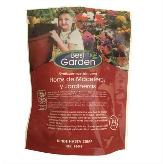 Fertilizante para flores y maceteros Bolsa 1 Kg