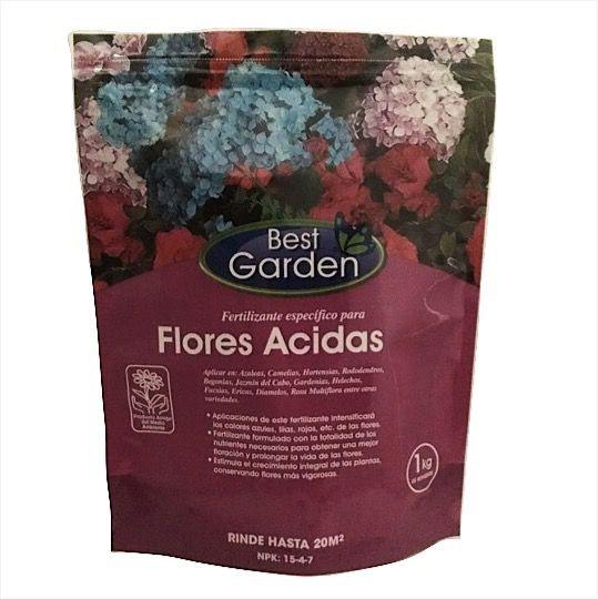 Fertilizante para flores ácidas Bolsa 1 Kg