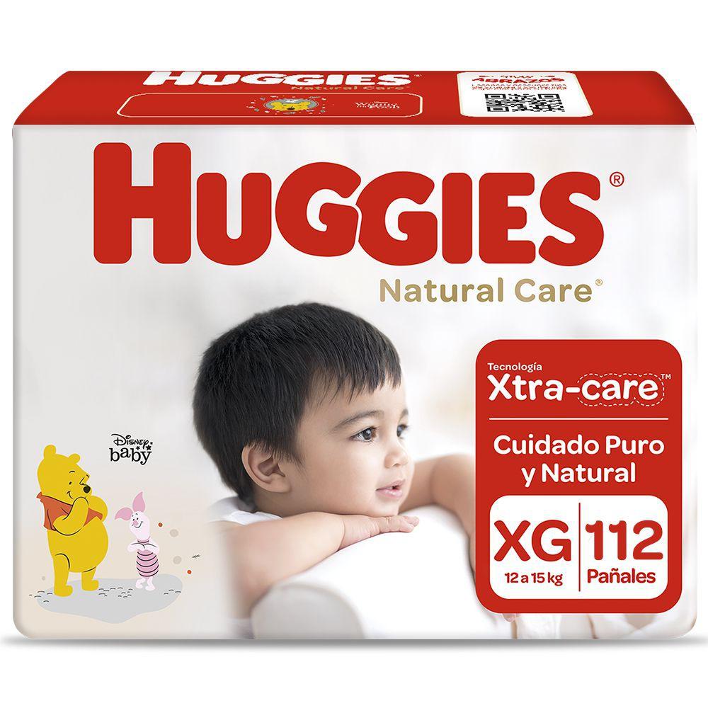 Pañales Natural Care unisex talla XG