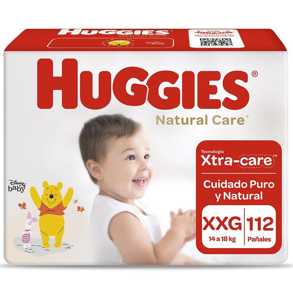 Pañales Natural Care unisex talla XXG