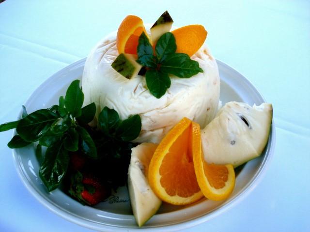 Mousse chirimoya naranja grande 12 porciones