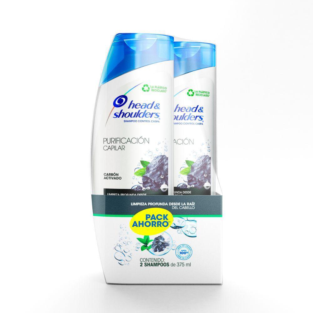 Shampoo purificación capilar carbón activado