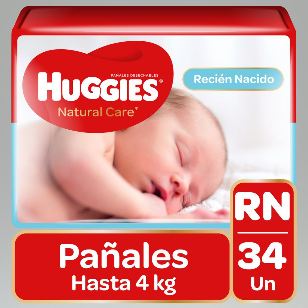 Pañal Natural Care unisex RN