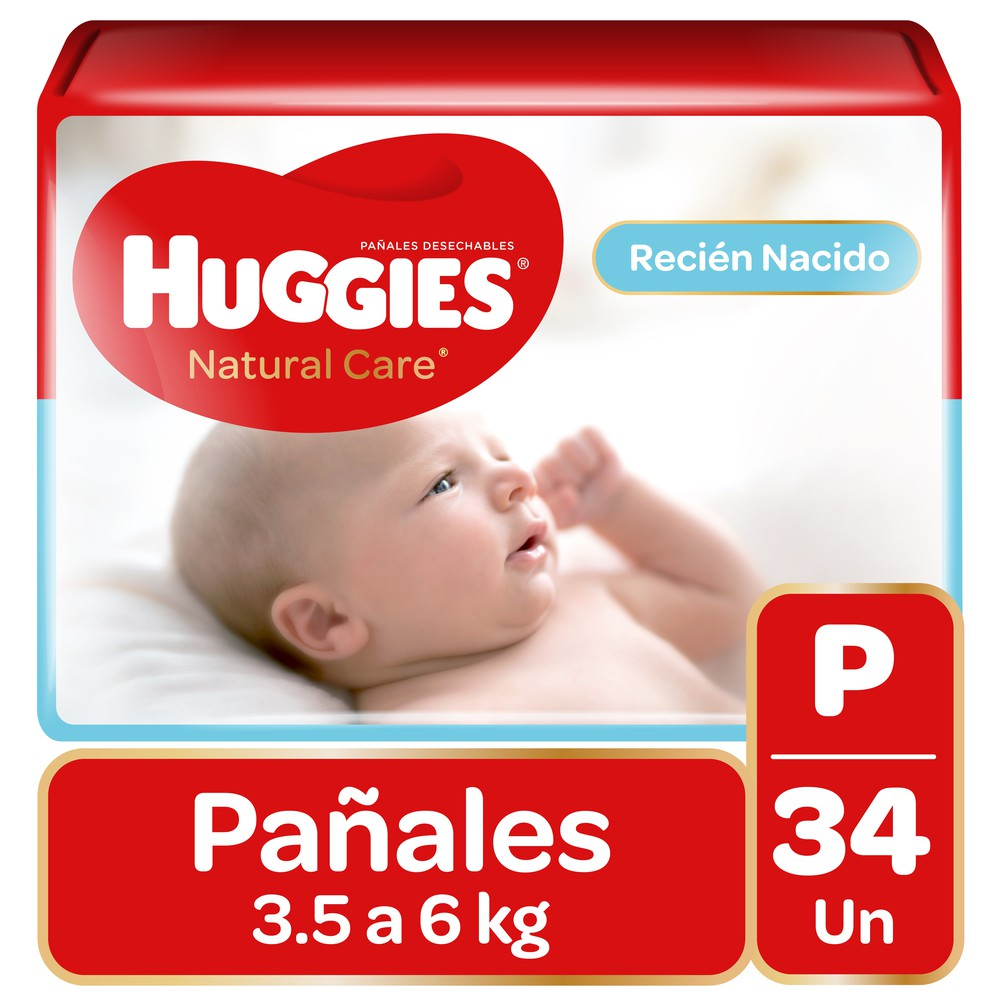 Pañal Natural Care unisex