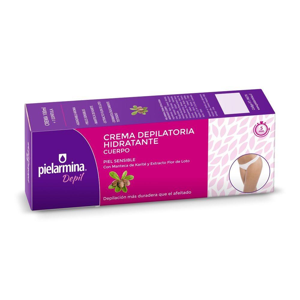 Crema depilatoria corporal hidratante