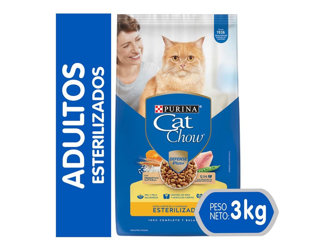 Alimento para gato esterilizado